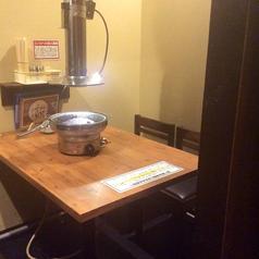 3階席4名用テーブル席。個室※ロースターとなります
