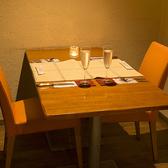 1テーブルは半個室にもなります♪4名様までOK!