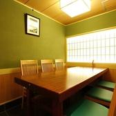 6名様個室を2室ご用意。上質な和空間にて接待やご会食をお楽しみ頂けます。