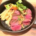 料理メニュー写真牛ハラミのステーキ 150g