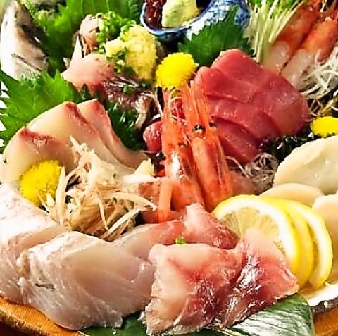 毎日元気に営業中!いけすの鮮魚をそのまま調理☆焼酎・日本酒の種類が豊富なお店!