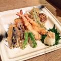 料理メニュー写真天ぷら盛り合せ