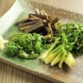 料理メニュー写真山菜のおひたし