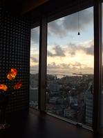 夕日や夜景を眺めて…