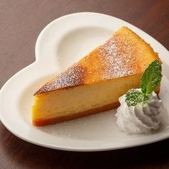 竹鶏たまごのチーズケーキ