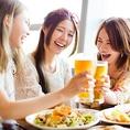 お酒の種類も多数ご用意しております♪お料理によく合う飲み物もたくさんご用意しております◎他では味わえない貴重なものから定番のものまで是非ご賞味下さいませ♪