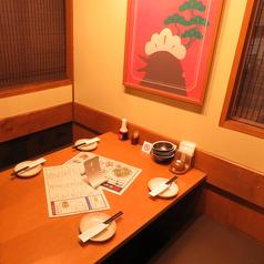 4名様テーブル席♪カップルやお友達とぜひご利用ください!