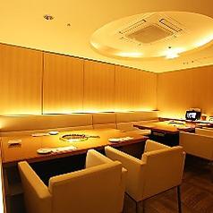 2階VIPルームです。ご予約優先の人気のお席です。