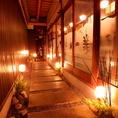 京町家を改装!石畳の落ち着いた雰囲気もいいですね♪