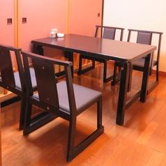 4名様個室(椅子)