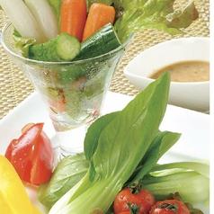 新鮮丸ごと野菜の丸かぶり