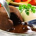 【女性のお客様から届いた満足のお声◆その1】デザートが美味しい!フォンダンショコラ大好き!