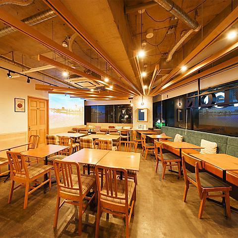 芝浦エリアにお洒落なカフェ・ダイニング!VIPルームも完備した利便性の高いお店☆