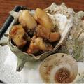 料理メニュー写真サザエのつぼ焼き