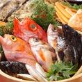 新鮮でピチピチな鮮魚を使用!鮮度と旨みを閉じ込めた熟成魚は超おすすめです!氷温熟成という特殊冷蔵技術で見事に魚の旨味を引き出しています。