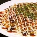 料理メニュー写真キャベツたっぷり!手作り広島風お好み焼き