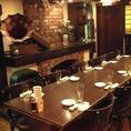 ホール・テーブル席で気の合う仲間とワイワイ、ビアパーティーなんていかがでしょう!