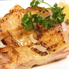 料理メニュー写真知床鶏もも焼/厚切りベーコン焼