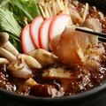 料理メニュー写真名物 味噌すき焼き~八丁味噌仕立て~