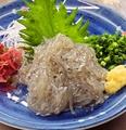 料理メニュー写真生しらす(季節限定!)