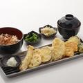 料理メニュー写真野菜盛り天定食