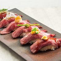 驚きのコスパ!話題の肉寿司食べ放題!