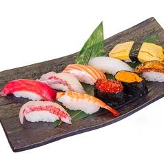 料理メニュー写真日替わり 10貫寿司盛り合わせ