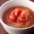 料理メニュー写真特製トマト冷麺
