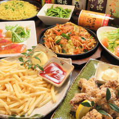 旬菜と炭火の辰吉のコース写真