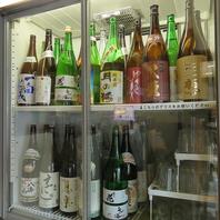 日本酒や焼酎などお料理に合うお酒が豊富☆