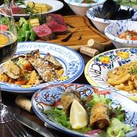 【歓迎会】シチリア料理を食の街、東銀座にて