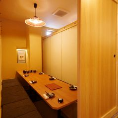 扉付きの完全個室