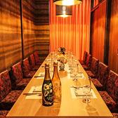 名古屋での各種ご宴会に最適な個室席。お席のみのご予約も承っておりますのでお気軽にお問い合わせください。