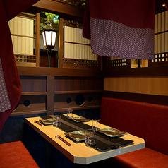 開放的なソファー個室、デート、大事な記念日などにご利用ください♪名古屋駅/名駅/居酒屋/個室/飲み放題