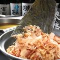 1番人気の鍋コース♪豪快にこんぶとかつおから出汁を作っています。