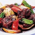 料理メニュー写真華菜家自家製 黒酢の酢豚