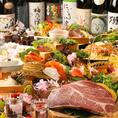 海鮮も肉も楽しめるコースを多数ご用意☆