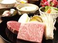 料理メニュー写真極上 黒毛和牛ステーキセット(軽めのコース)