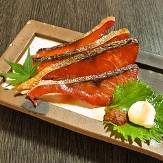 料理メニュー写真鮭とば炙り
