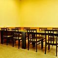 テーブルタイプのご宴会(会食)席。
