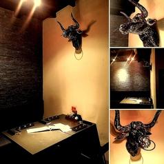 店内奥には個室をご用意☆より一層の贅沢感と落ち着いた空間をご提供します☆一日2組様限定の個室☆予約必須♪