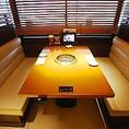 2階≪窓側にあるテーブルソファー席≫
