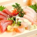 料理メニュー写真【築地】刺身三種盛り合わせ