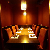 雰囲気◎なオシャレな個室席は女子会や合コンにもオススメ!盛り上がること間違いなし♪