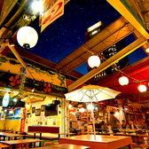 新宿の空に輝く星空とイルミネーションはロマンチックな時間を演出します♪