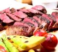 料理メニュー写真トラットリア29名物 牛ハラミステーキ 150g