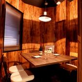 3枚の扉で仕切られた個室です☆大人気のため、ご予約はお早めに!