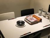 4名様テーブルも完備!