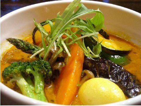 野菜たっぷりス-プカリ-