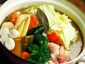 料理メニュー写真とりほのスープカレー鍋付き2時間【元祖】焼き鳥食べ放題